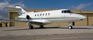 Jet Charter Nashville Hawker 800XP