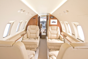 Interior - Clay Lacy Hawker 800XP N285XP based Nashville, TN