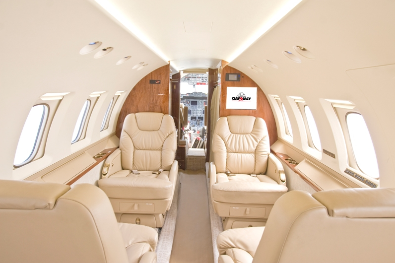 Nashville Welcomes Clay Lacy Aviation Hawker 800XP For Charter  FlightList P