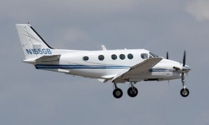 King Air C90 N155GB with RAI Jets