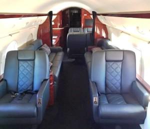 Sun Air Jets G-IV N701DB Cabin Interior