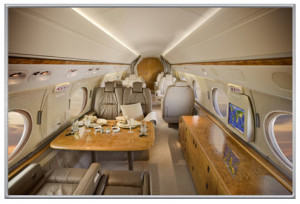 Gulfstream V N516GH Charter Cabin, Solairus Aviation