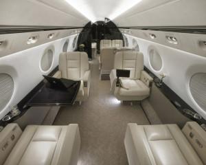 SaxonAir Charter Gulfstream 550 based EGSS Stansted, UK