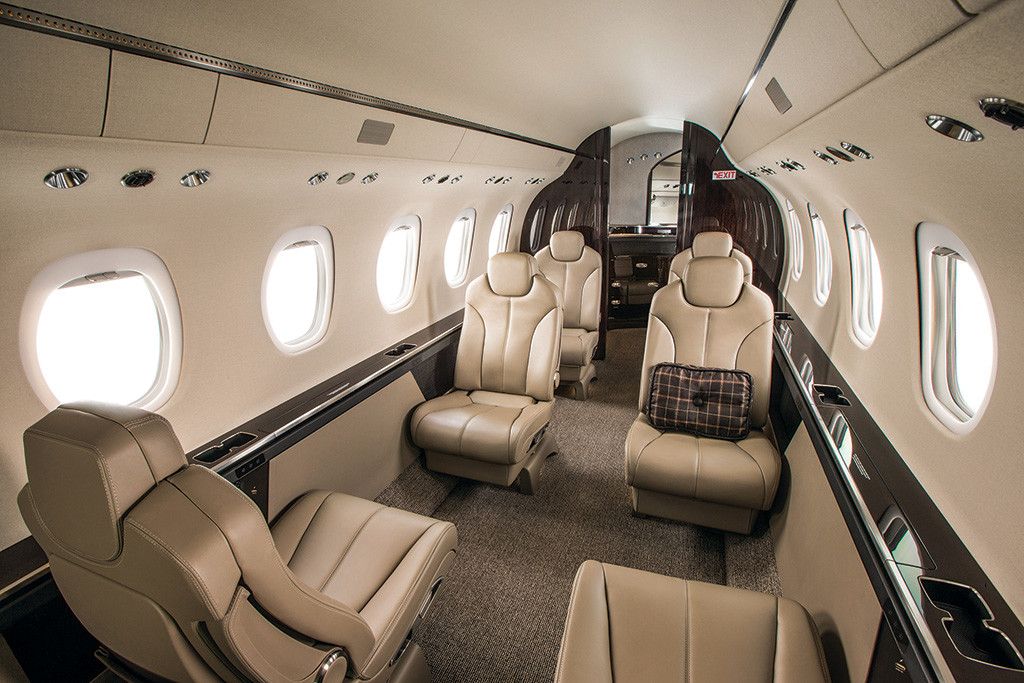 Citation Latitude Cabin