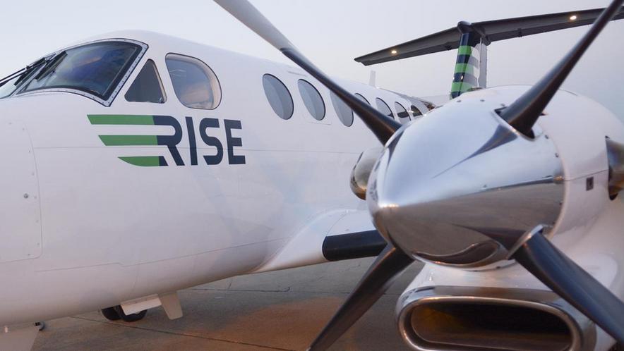 Rise King Air 200 Flight Service between Dallas, Houston, Austin and Midland Texas