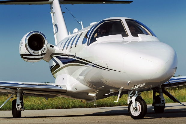 Cessna Citation M2 light jet. Nine are currently available for charter in the US.