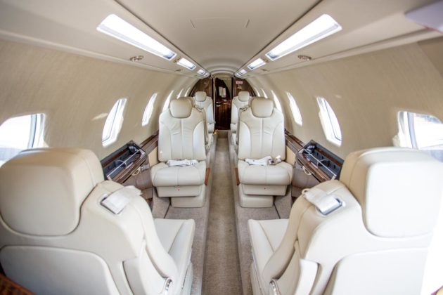 Gama Aviation LLC's Citation Sovereign+ Cabin