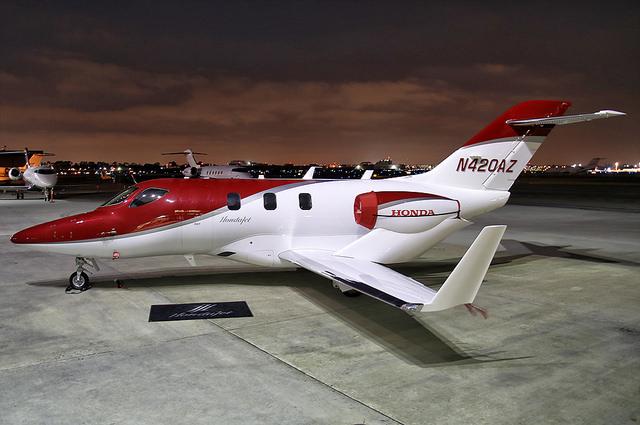 Charter a HondaJet light jet