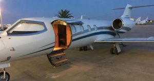 Learjet 35A light jet available for charter from Treasure Air Charters in Miami, FL