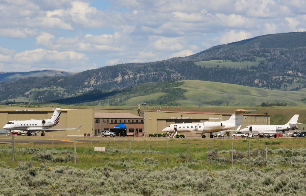 Jackson Hole Aviation FBO at Jackson Hole Airport