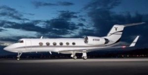 New to charter, Gulfstream IV based KLAS Las Vegas, operated by Prime Jet