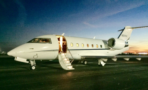 New to charter, Challenger 601 based KSFB Orlando, operated by Air Fuga