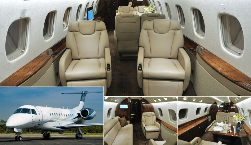 Legacy 600 now available for charter based OAK Oakland, CA, operated by Jet Edge.