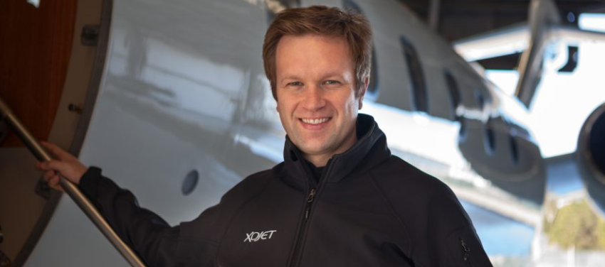 Brad Stewart, CEO and Chairman of XOJet.