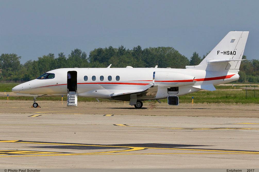 Citation Latitude 9-passenger midsize jet available for European charter.