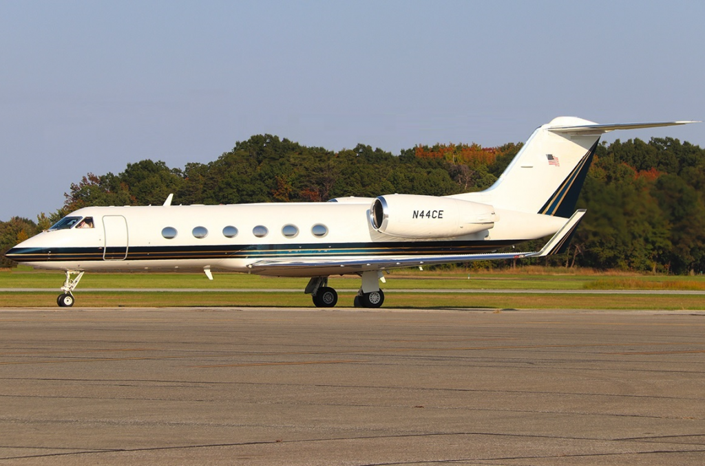 Gulfstream IV charter jet operated by Global Air Charter and included in the FlightList PRO floating fleet resource.