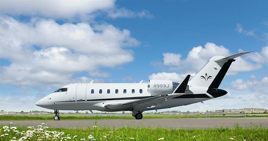New to charter, 2018 Challenger 650 based KORL Orlando, FL operated by Elite Air