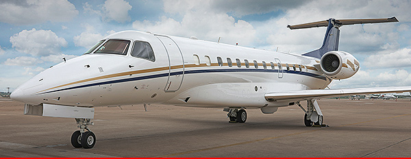 New to charter, Legacy 600 based KTEB operated by Jet Edge