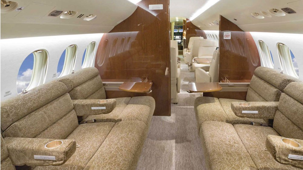 All-Falcon 7X charter fleet operated by Planet Nine Private Air LLC