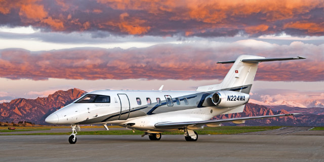 Pilatus PC-24 jet for charter in the U.S.